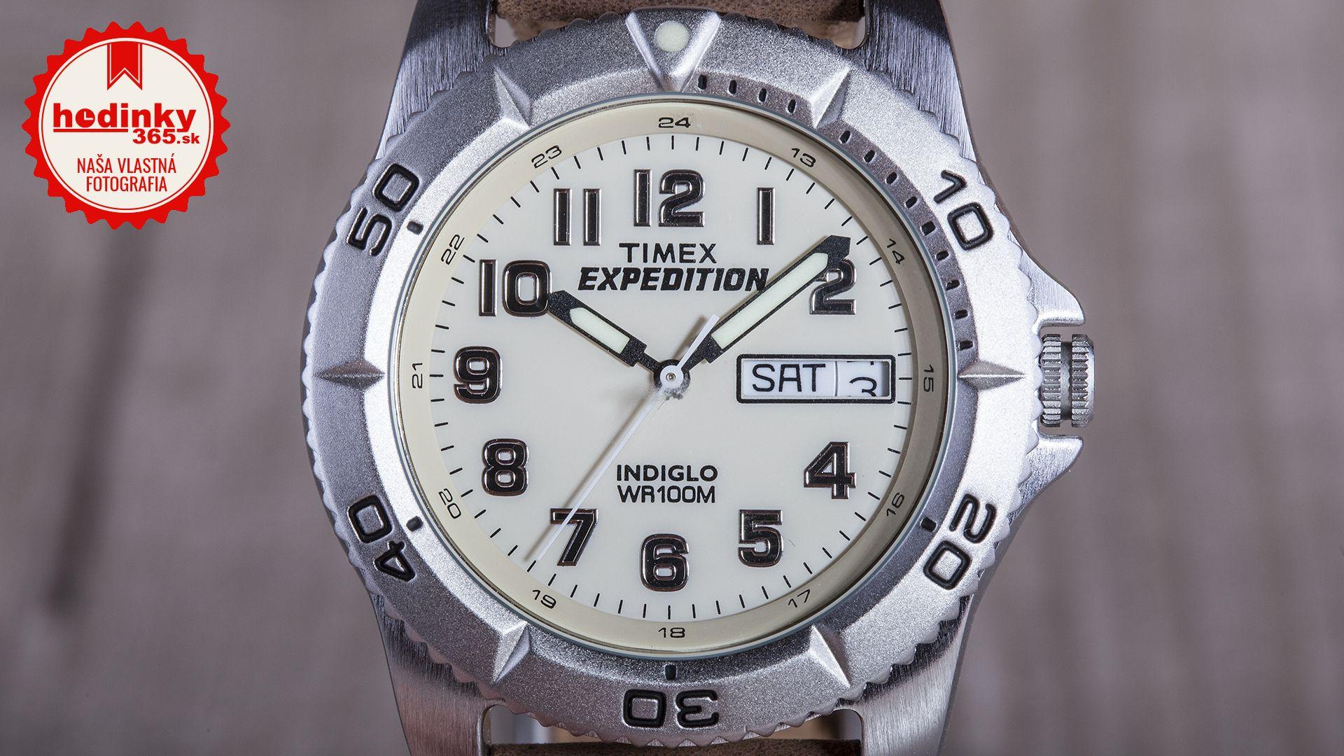 Timex Expedition T46681. Pánske hodinky - kožený remienok 2b72bb0c770