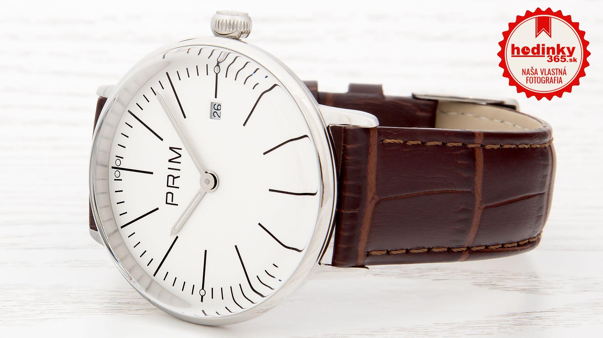 Pánske hodinky - kožený remienok bb11928e52