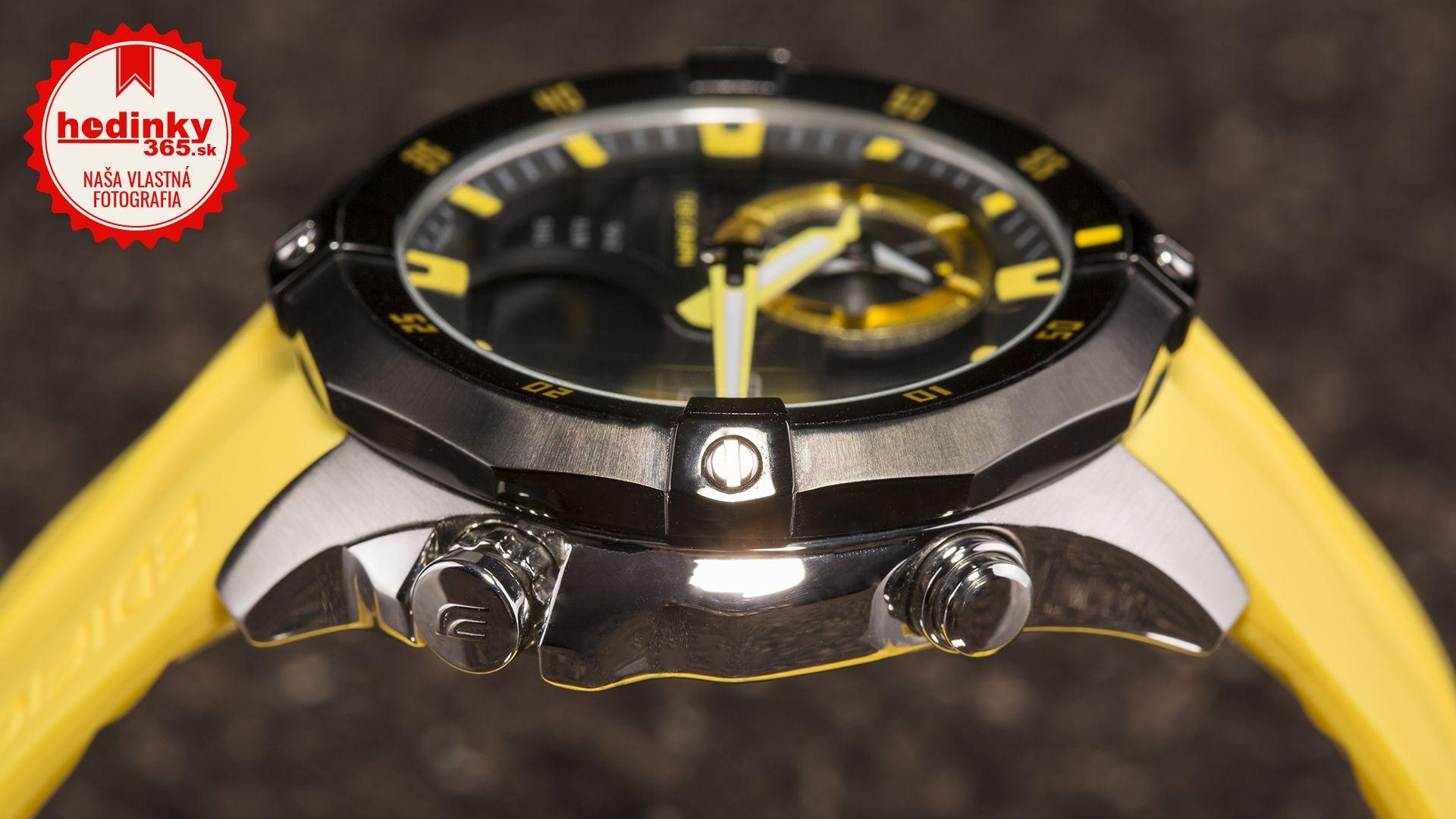 Pánske hodinky - živicový remienok 0da5be4356d