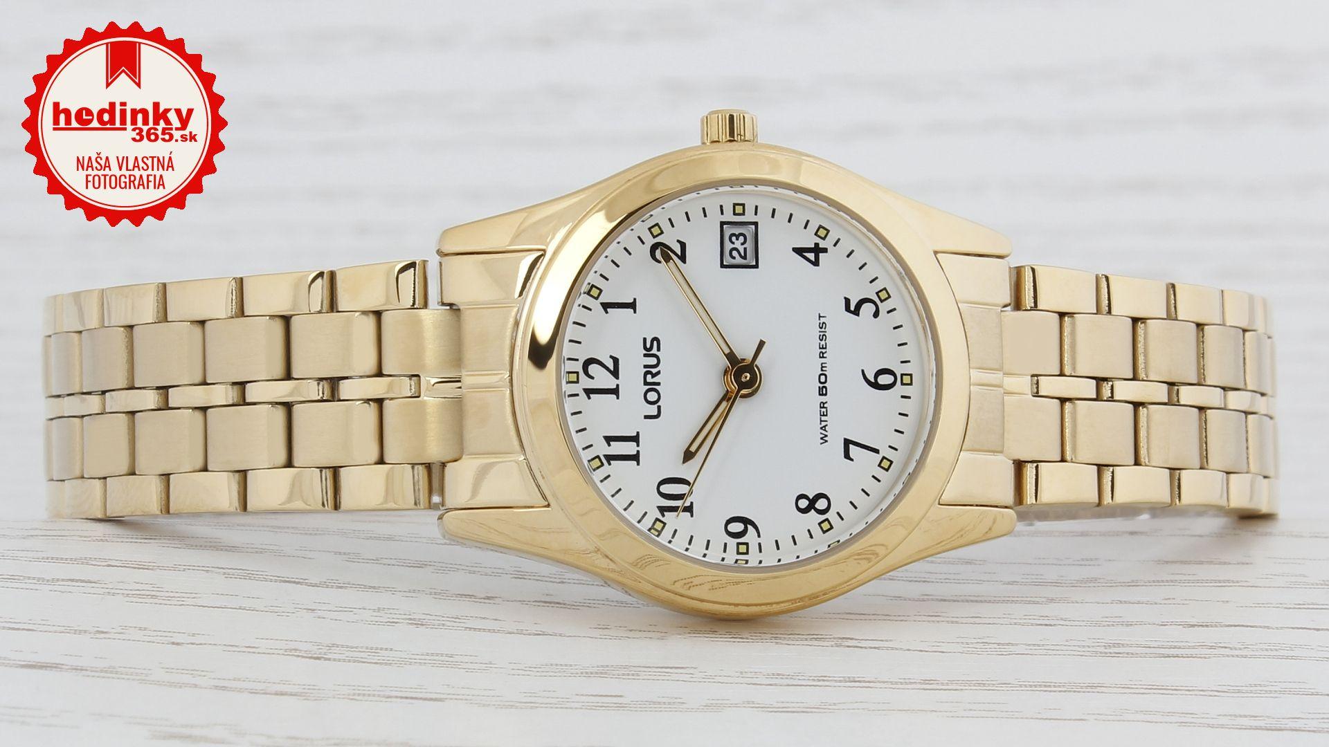 088075ae5 Dámske hodinky - ocelový remienok, kov puzdro, minerálne sklíčko. Všetky  technické parametre nájdete nižšie
