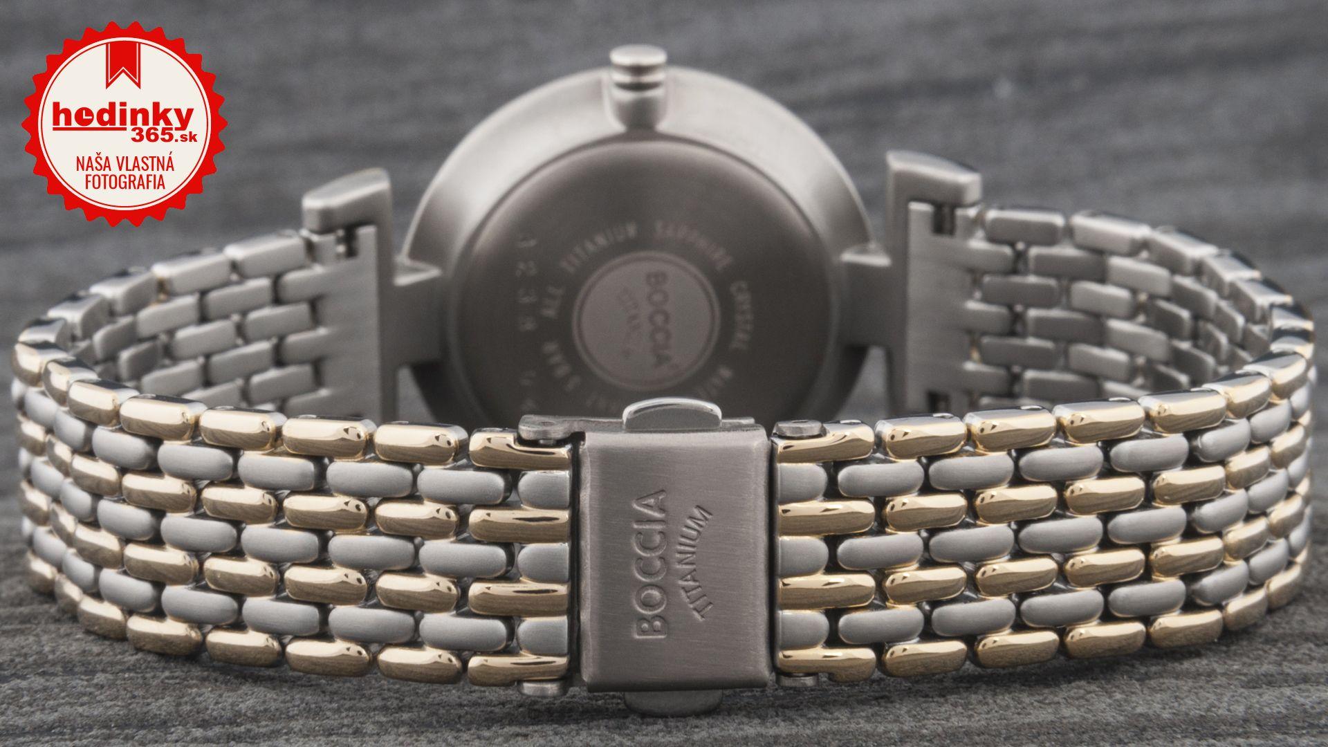 Boccia Titanium 3238-04. Dámske hodinky - titánový remienok 9bd44fba715
