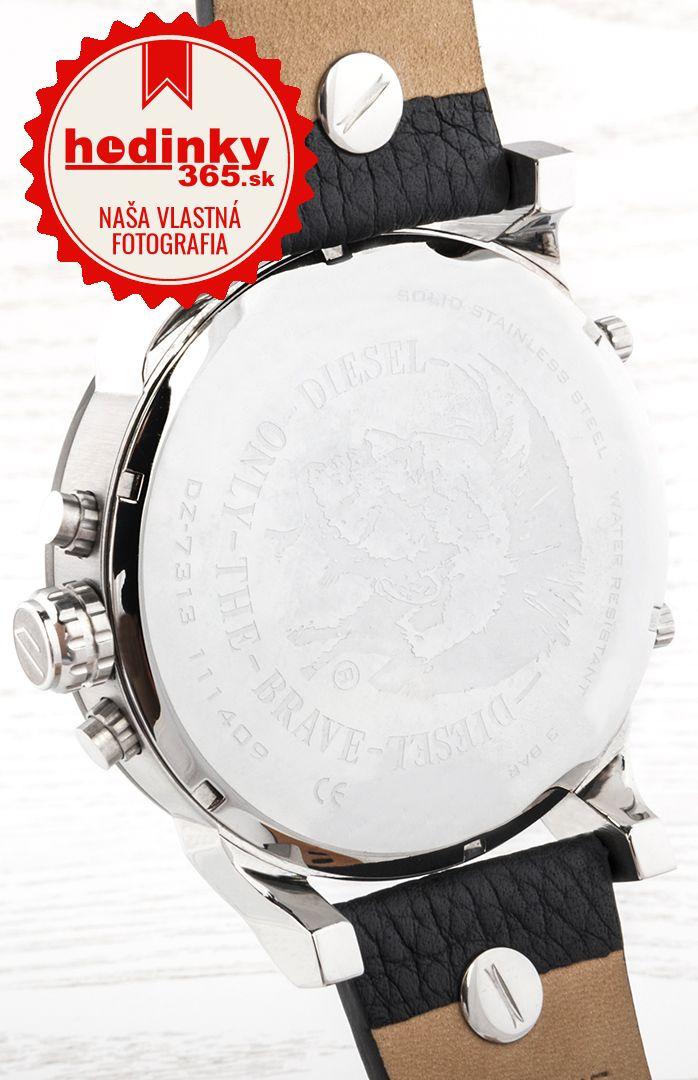 01a917f27b0a Diesel DZ 7313. Pánske hodinky - kožený remienok