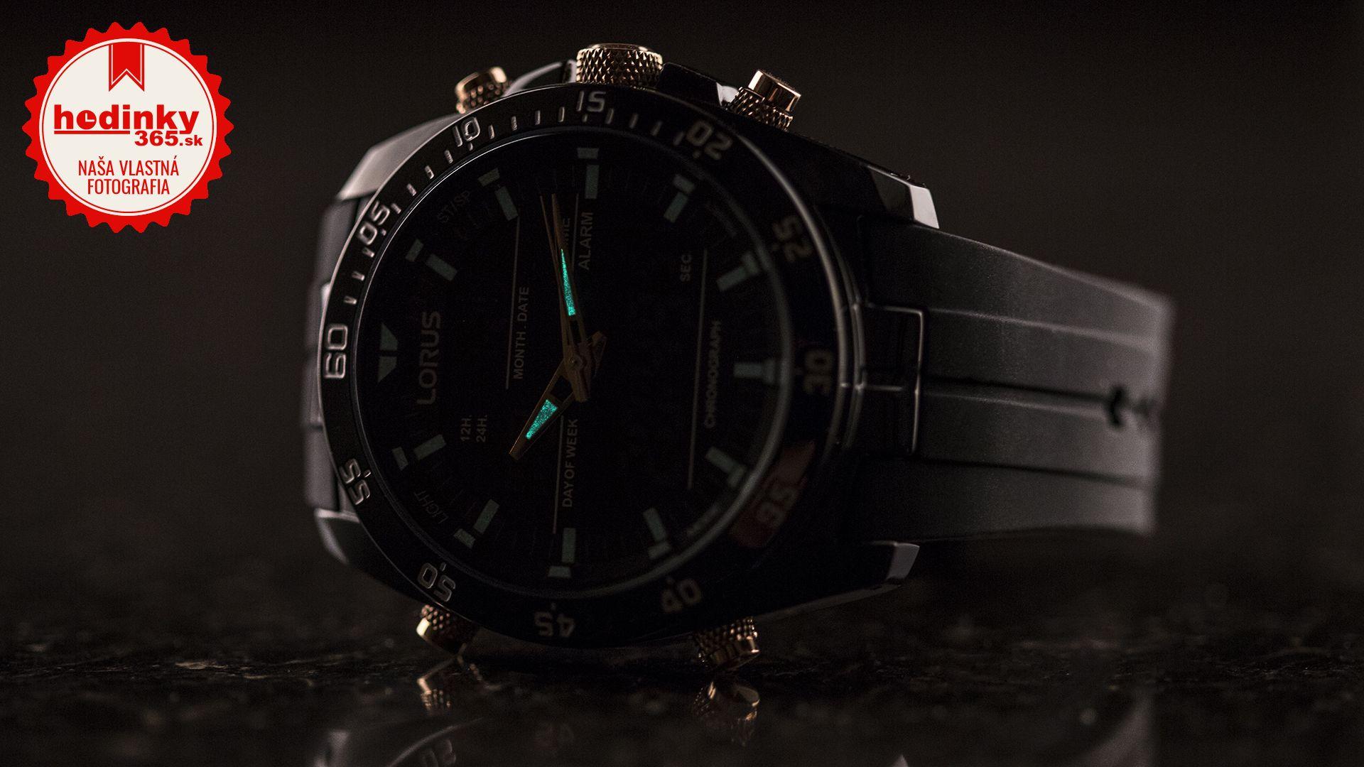 Pánske hodinky - pryžový remienok ffaa49cd638