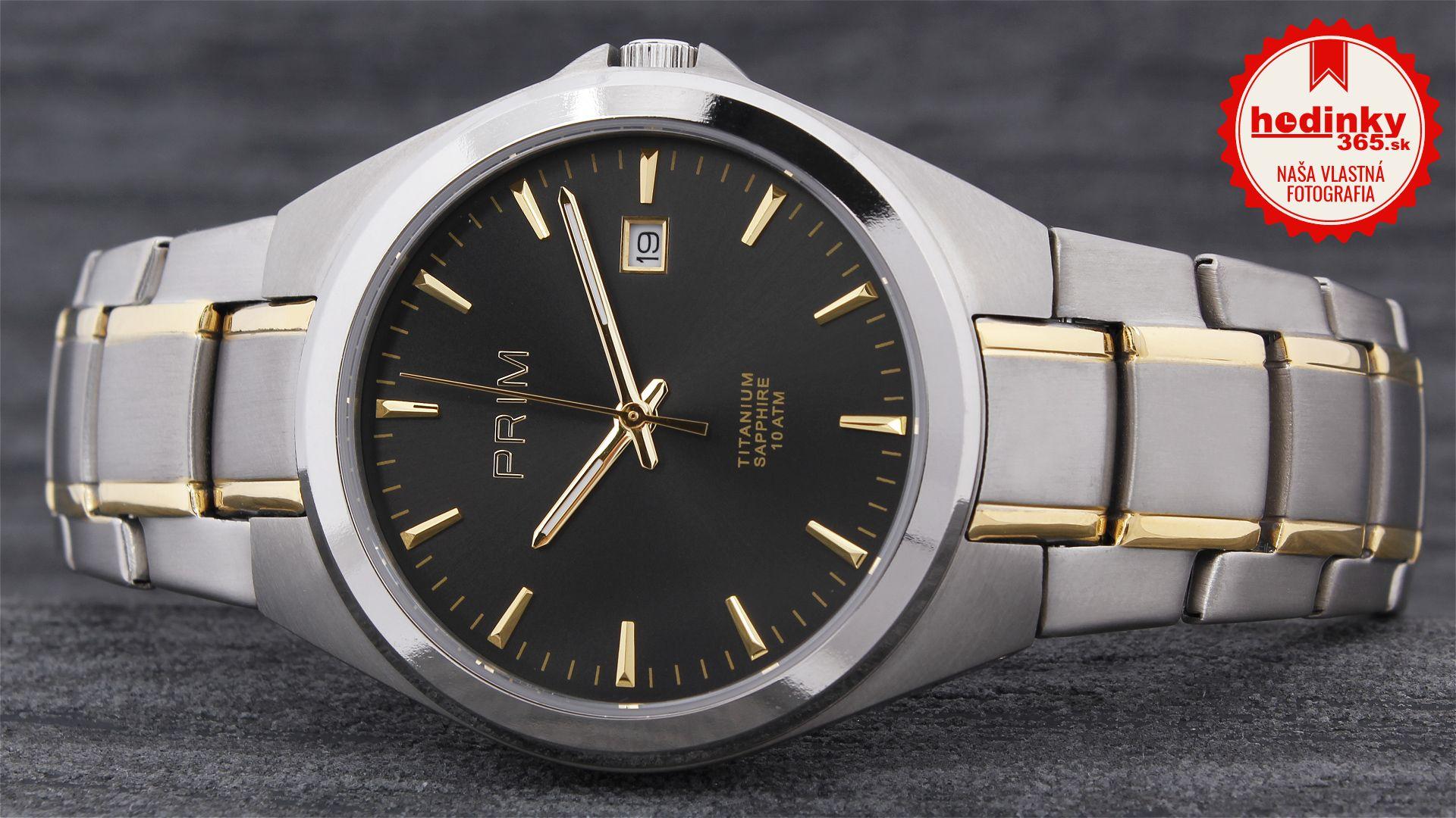995fc4f7657 Pánske hodinky - titánový remienok