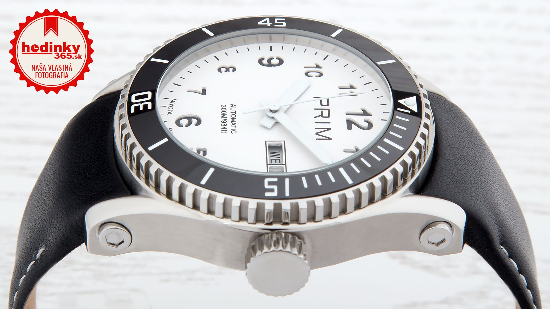 a219fb523 Pánske hodinky - kožený remienok, ocel puzdro, minerálne sklíčko. Všetky  technické parametre nájdete nižšie