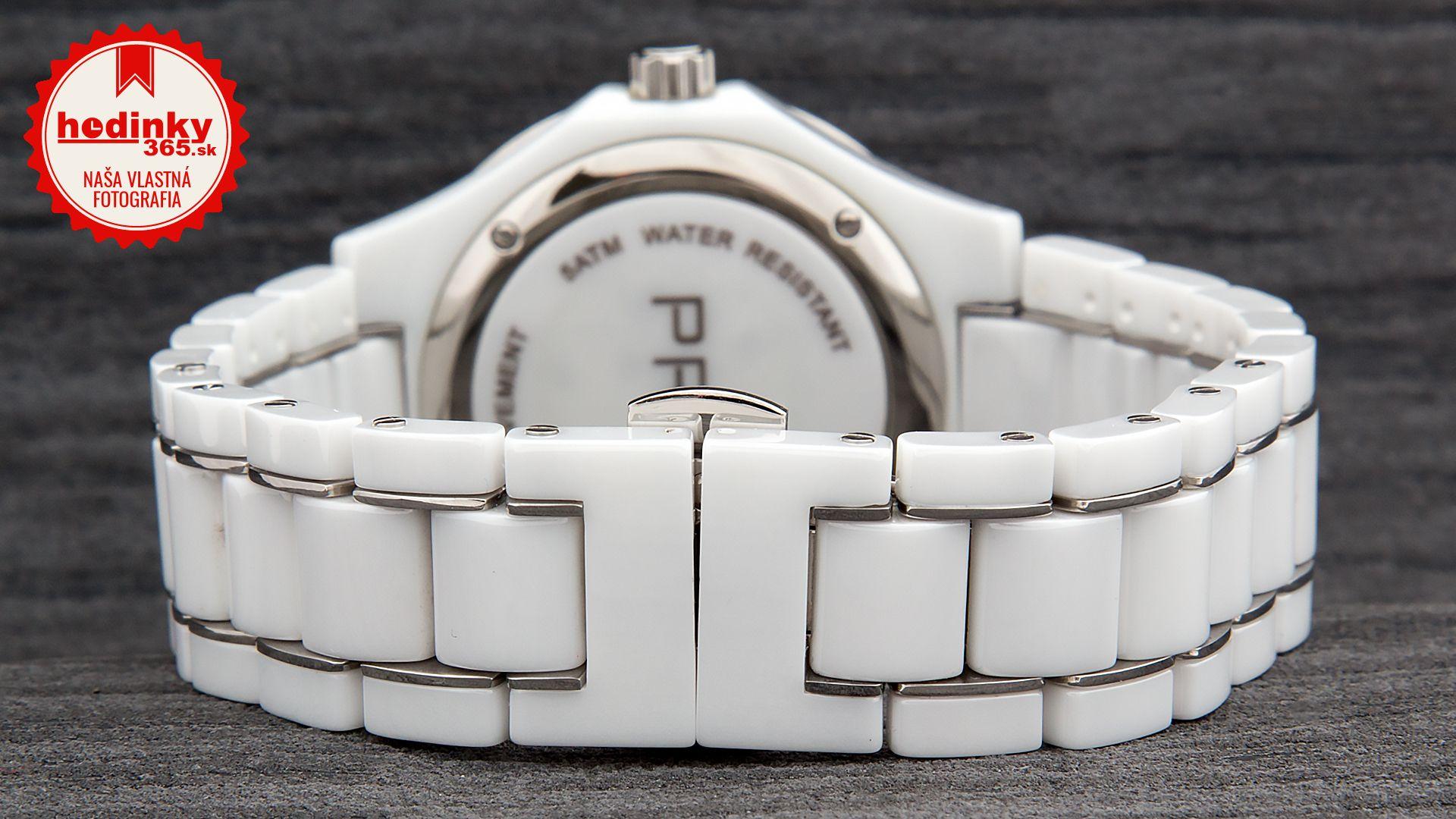 a4c900bae Dámske hodinky - keramický remienok, keramika puzdro, minerálne sklíčko.  Všetky technické parametre nájdete nižšie