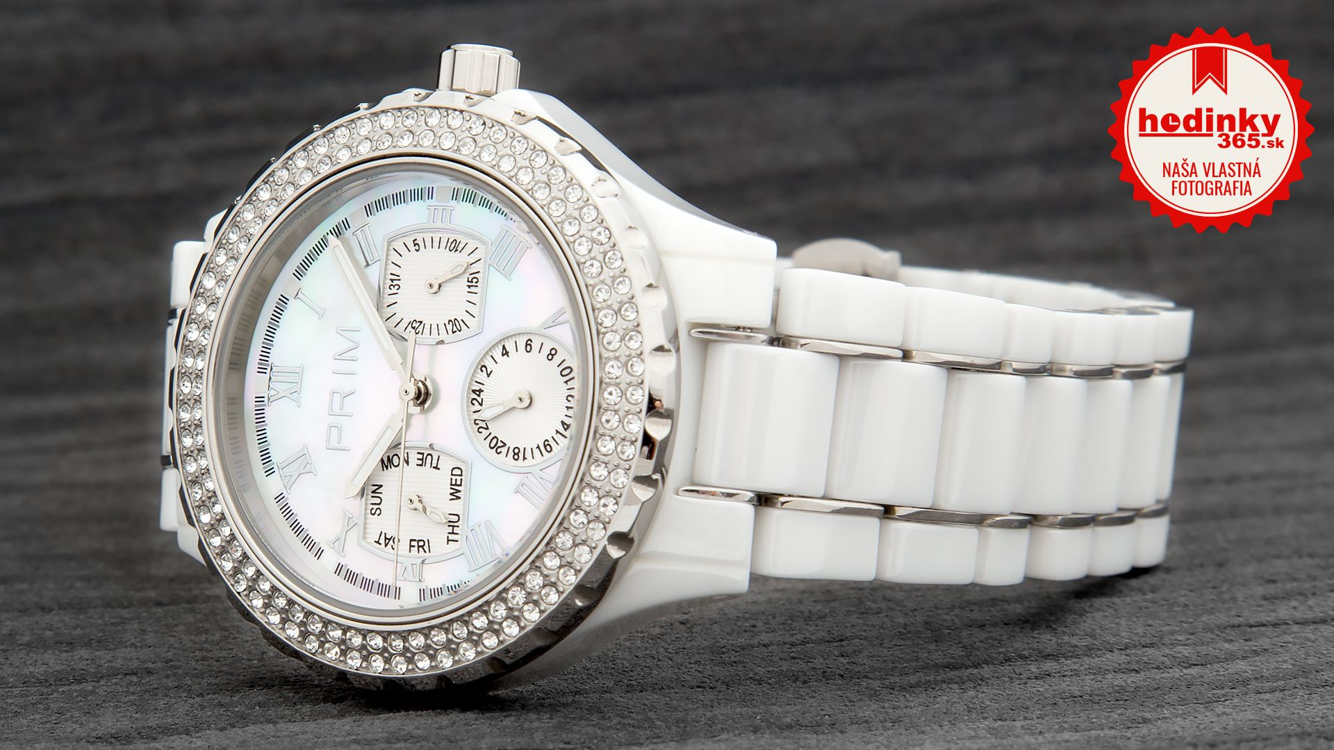 Dámske hodinky - keramický remienok ef160460d0