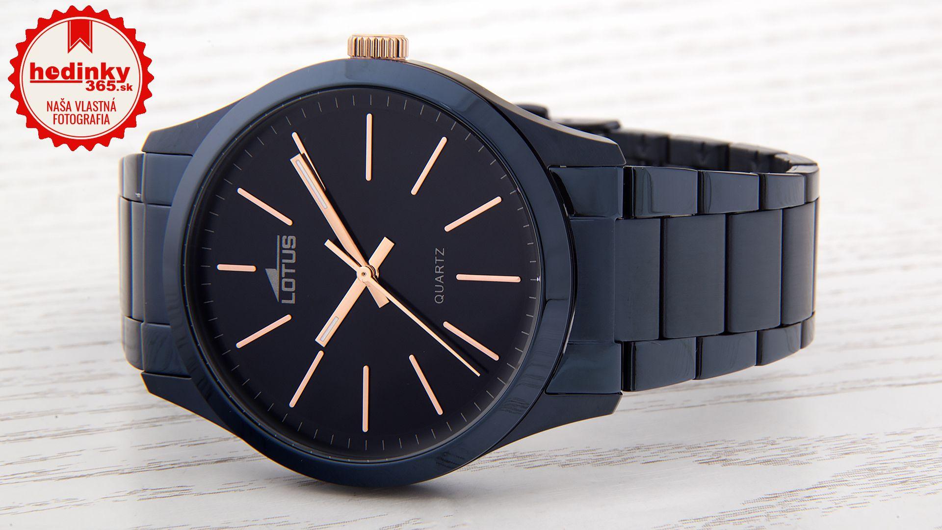 704cb0aac Lotus L18163/2. Pánske hodinky - ocelový remienok, ocel puzdro, minerálne  sklíčko. Všetky technické parametre nájdete nižšie