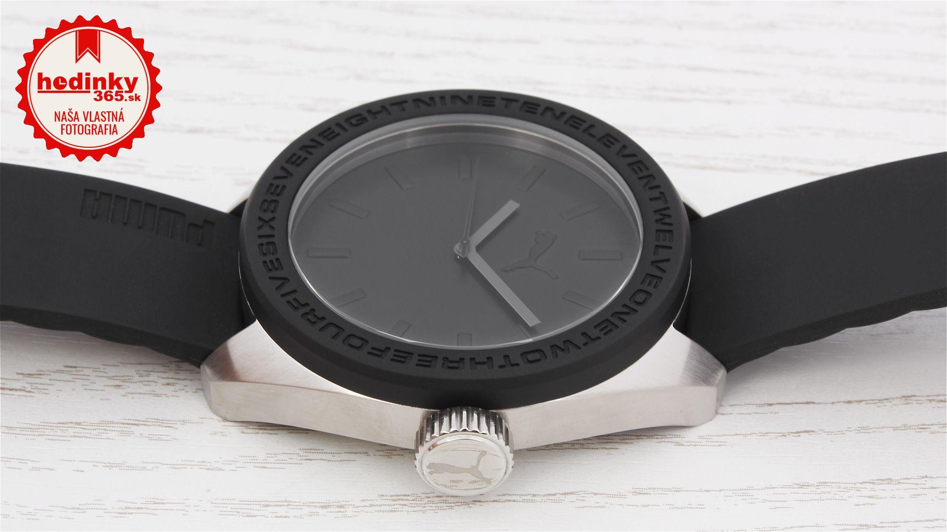 613495802e959 Pánske hodinky - pryžový remienok, ocel puzdro, minerálne sklíčko. Všetky  technické parametre nájdete nižšie