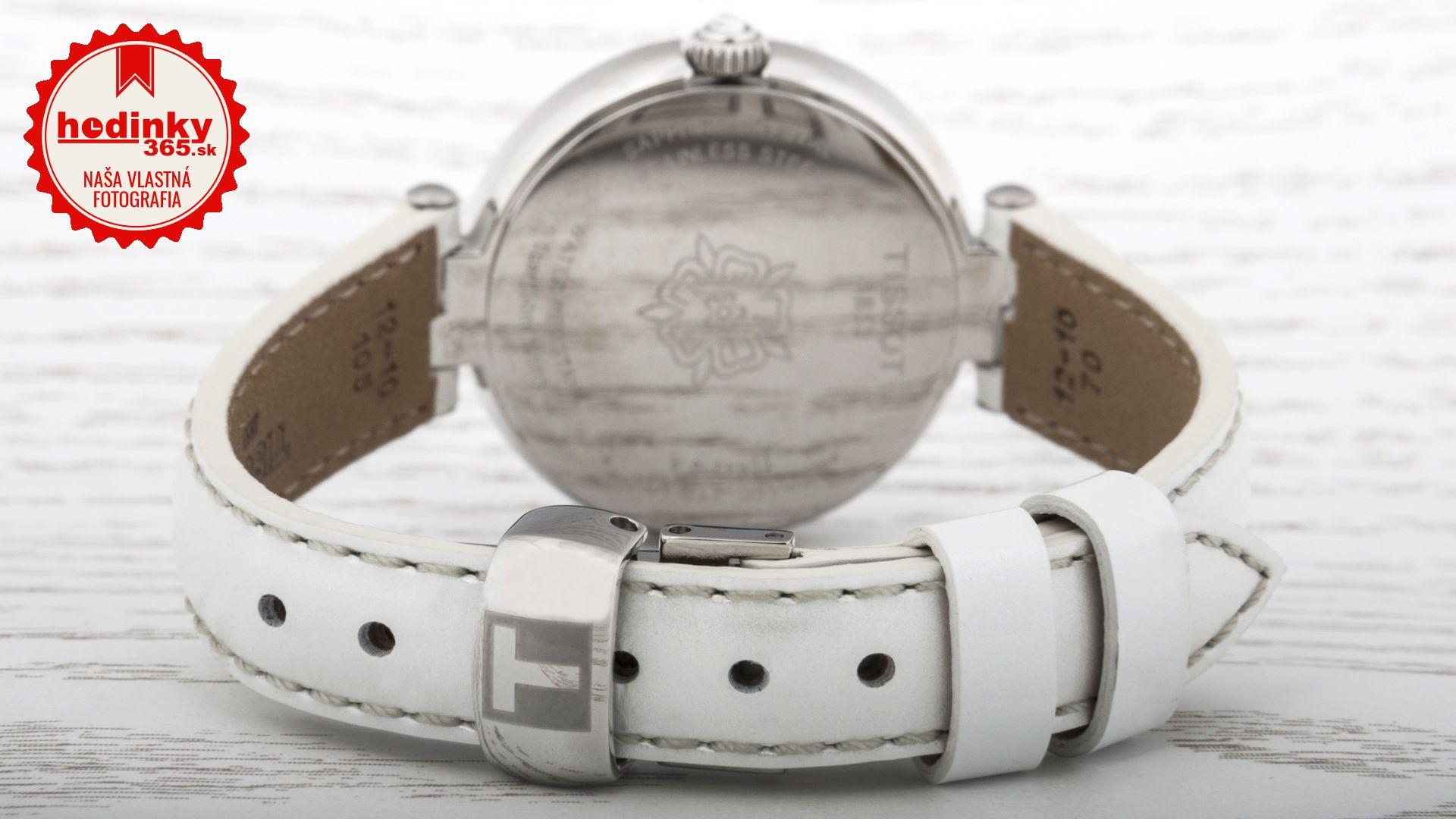 737433477 Dámske hodinky - kožený remienok, ocel puzdro, safírové sklíčko. Všetky  technické parametre nájdete nižšie