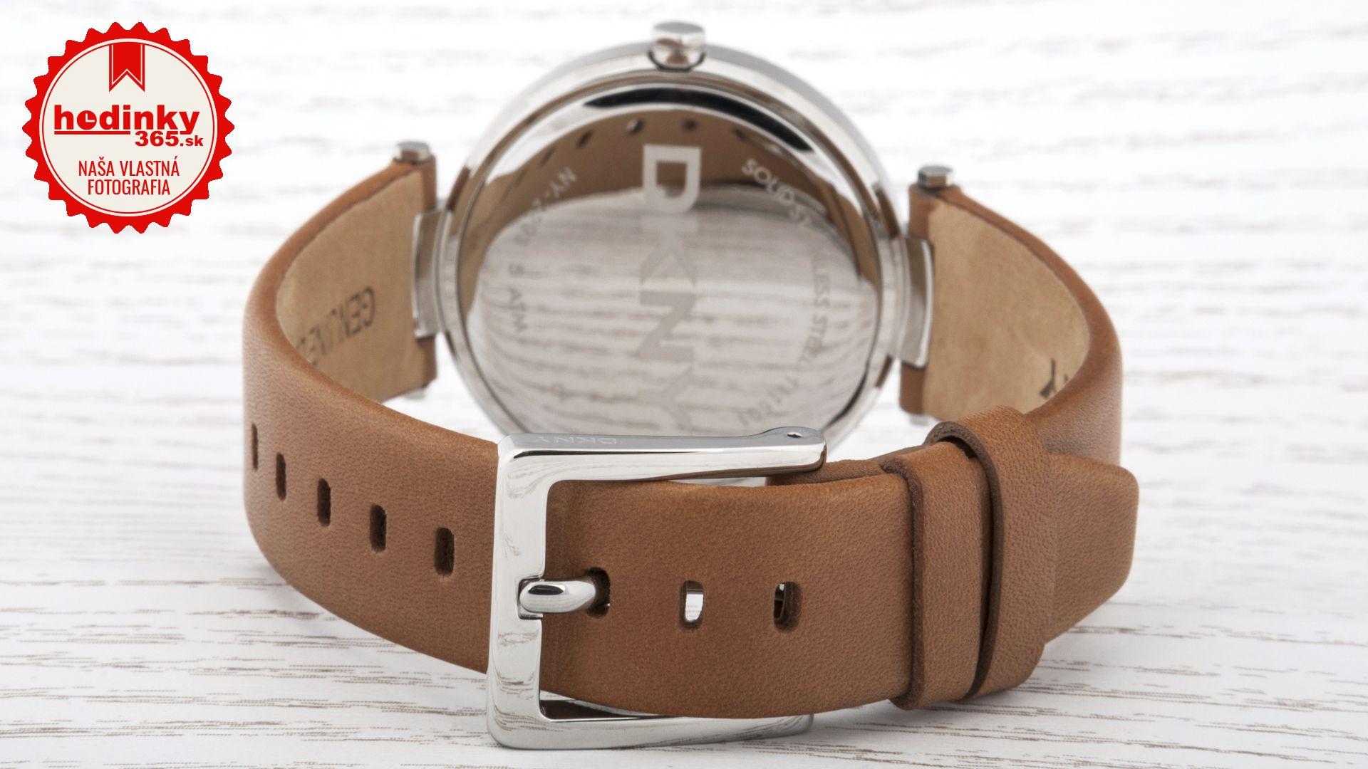 137792ff74 Dámske hodinky - kožený remienok