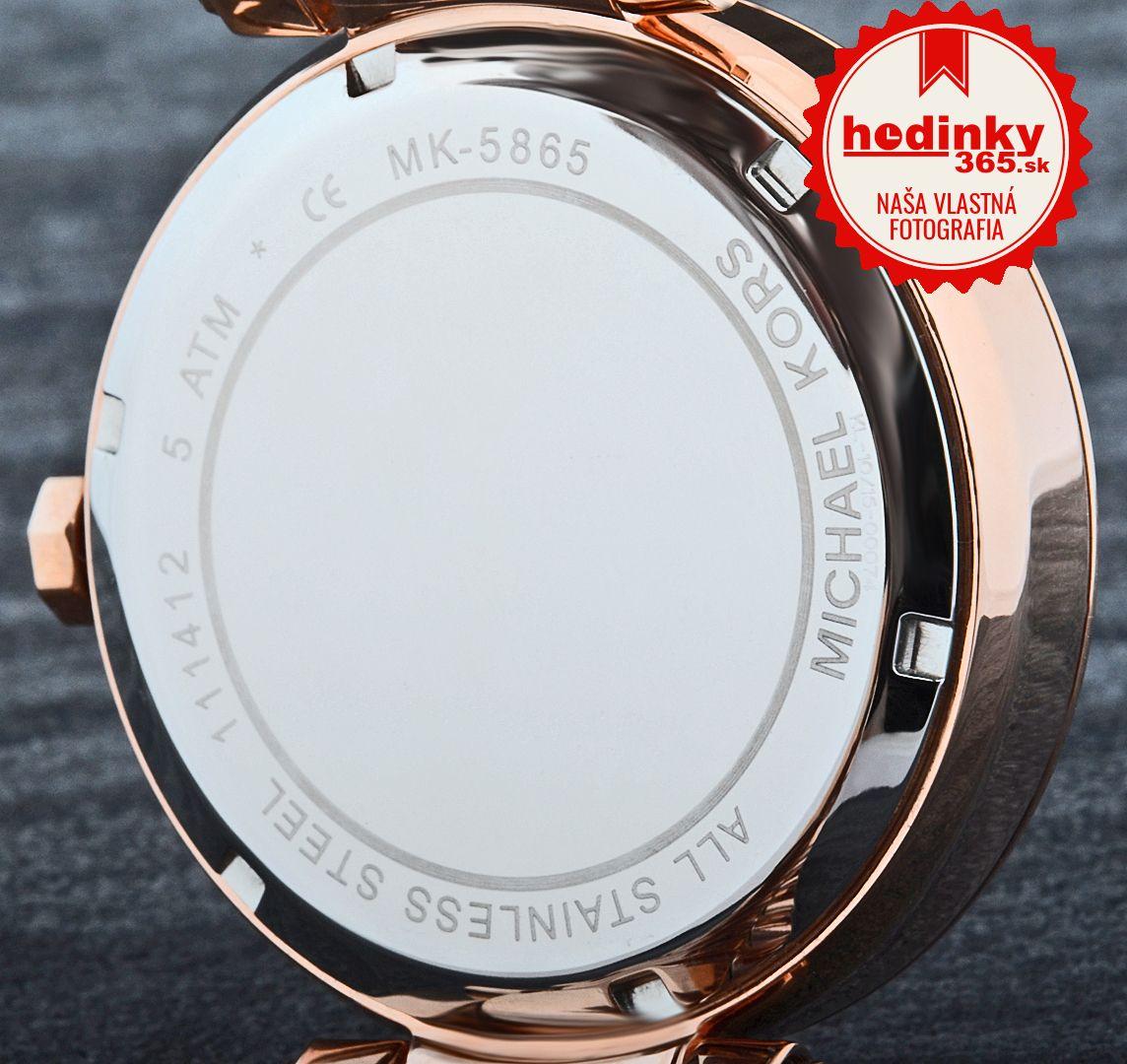 Michael Kors MK 5865. Dámske hodinky - ocelový remienok c68d1af86f3