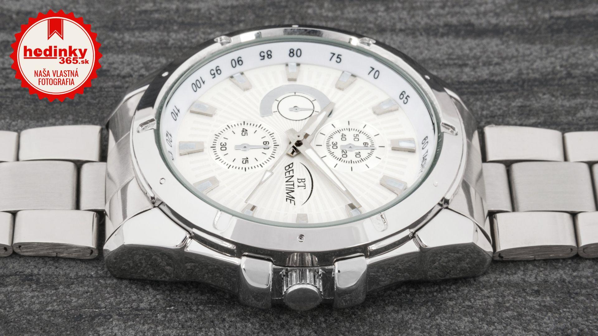 534215e68 Bentime 005-003CB. Pánske hodinky - kovový remienok, kov puzdro, minerálne  sklíčko. Všetky technické parametre nájdete nižšie