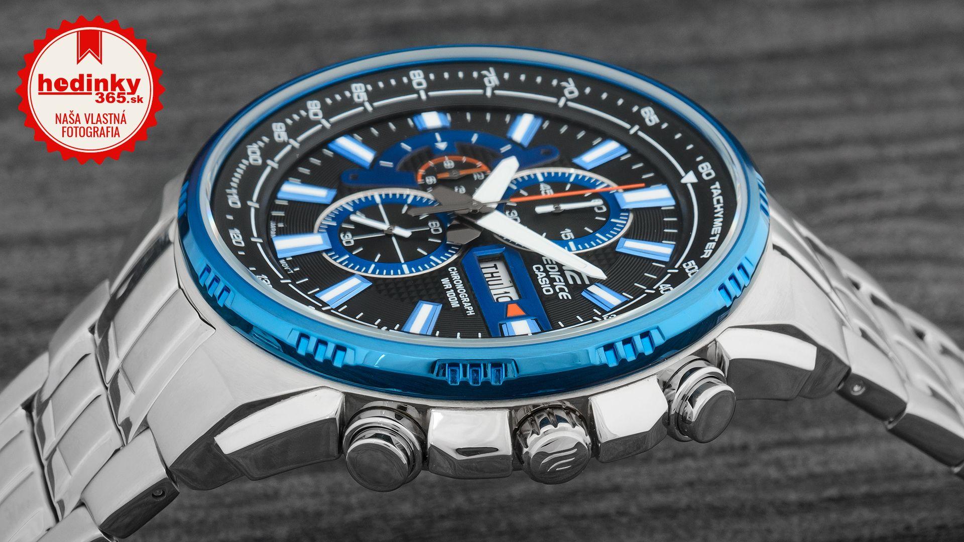 Casio Edifice EFR-549D-1A2VUEF. Pánske hodinky - ocelový remienok 95c6b0a9504
