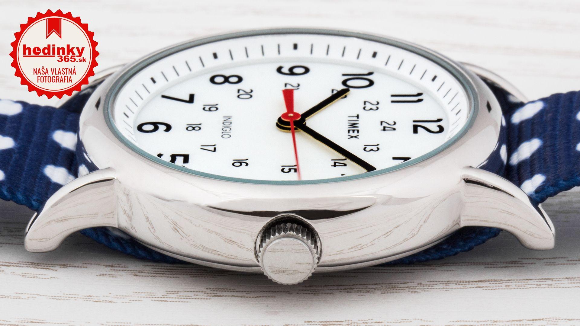 Dámske hodinky - textilný remienok c32c3aad13