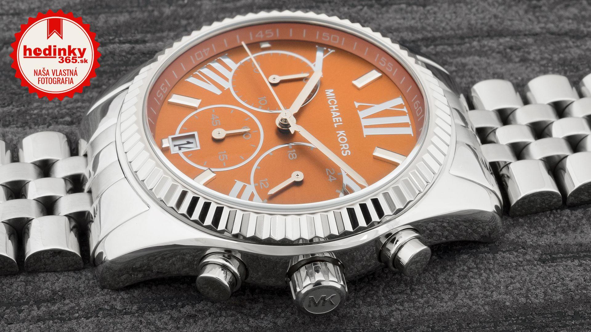 731f0b98bb Michael Kors MK 6221. Dámske hodinky - ocelový remienok