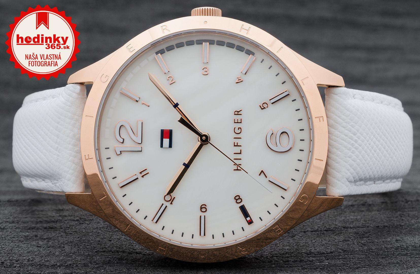 35c25143c609 Tommy Hilfiger 1781543. Dámske hodinky - kožený remienok