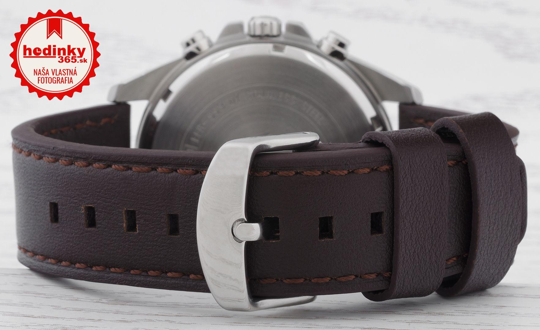 Pánske hodinky - kožený remienok 46cef022d91