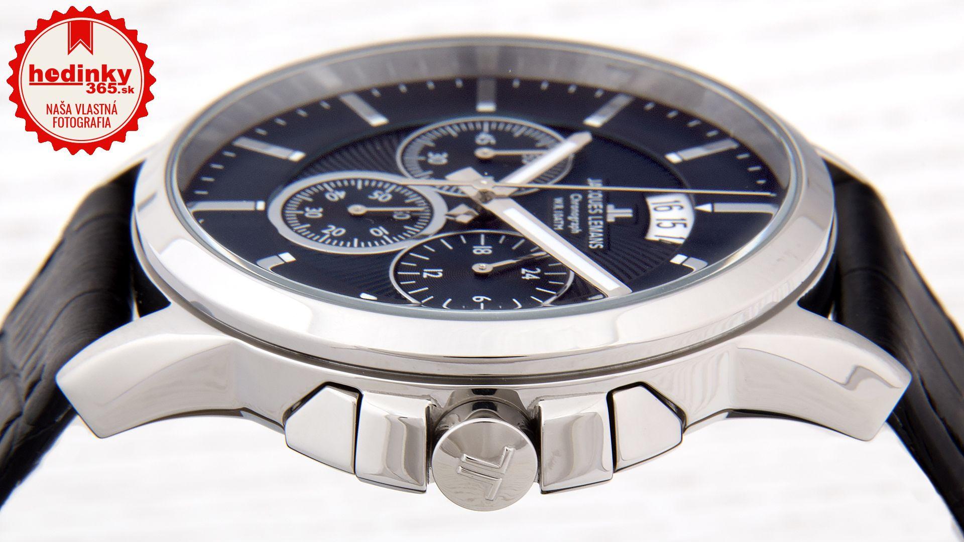 Pánske hodinky - kožený remienok e7a7e436af0