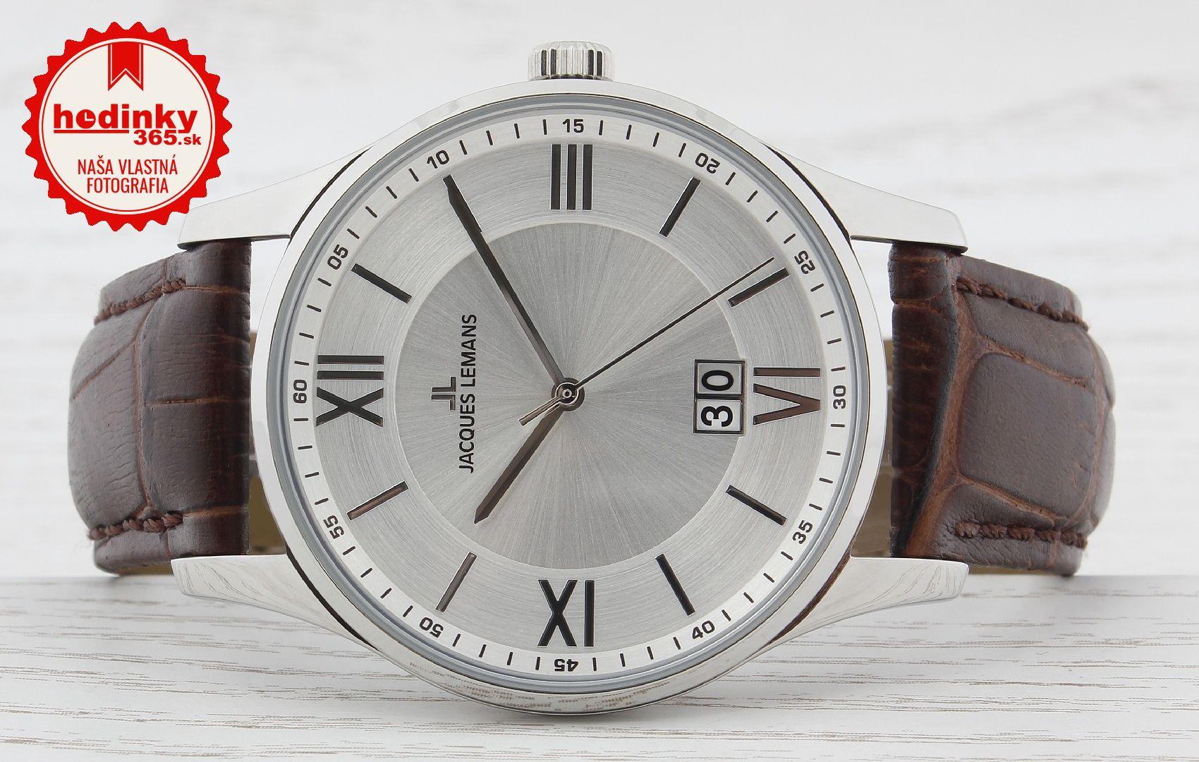 0dc727ab2 Pánske hodinky - kožený remienok, ocel puzdro, minerálne sklíčko. Všetky  technické parametre nájdete nižšie