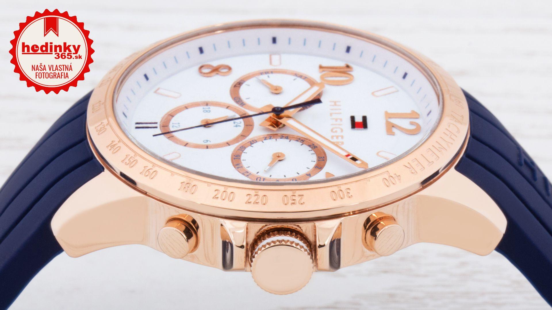 1bc44e1ddc28 Tommy Hilfiger 1781645. Dámske hodinky - silikónový remienok