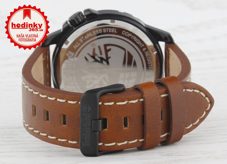 Timberland 14647JSB 07. Pánske hodinky - kožený remienok 937596925d