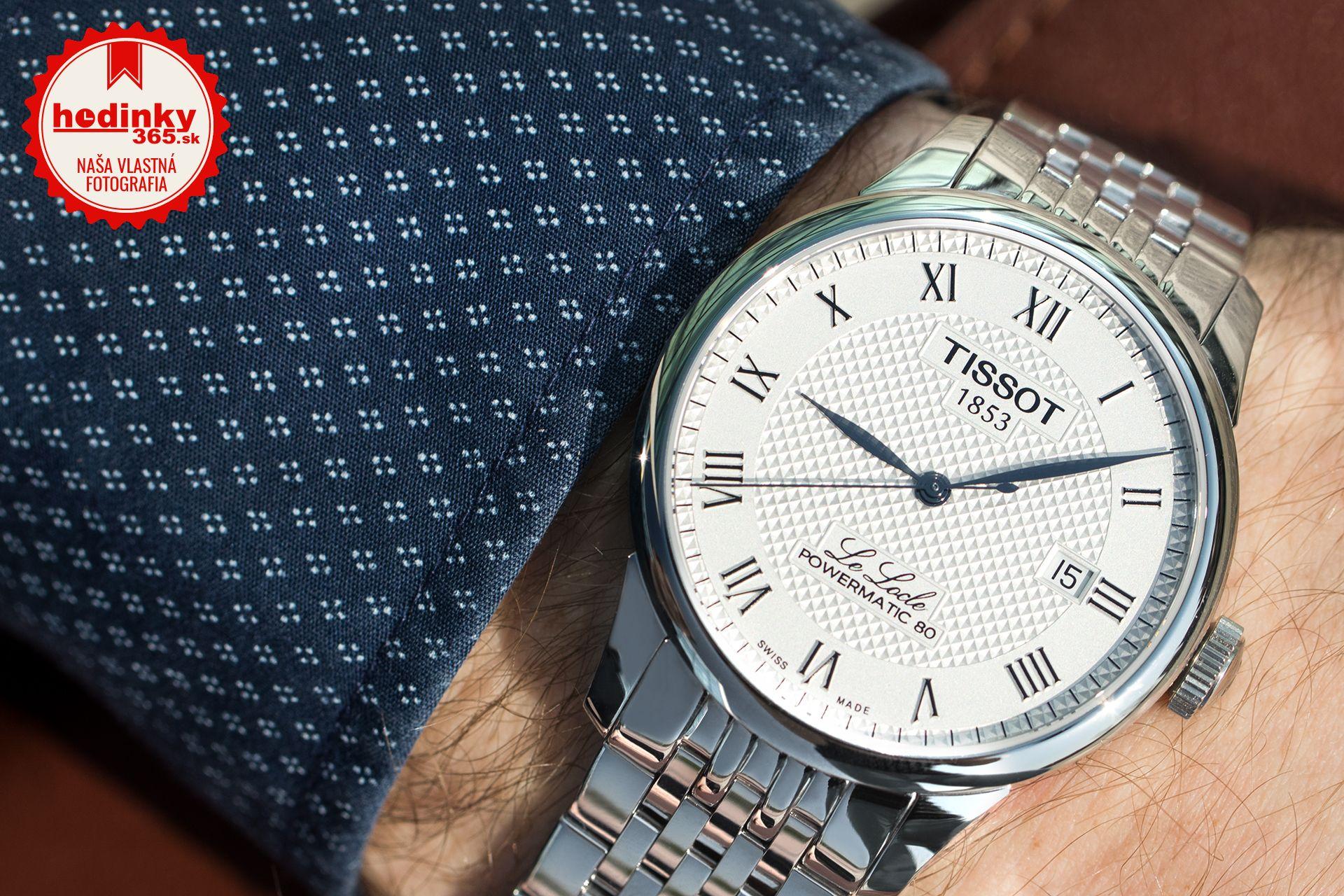 Tissot Le Locle Automatic T006.407.11.033.00. Pánske hodinky - ocelový  remienok 4f81ab5a023