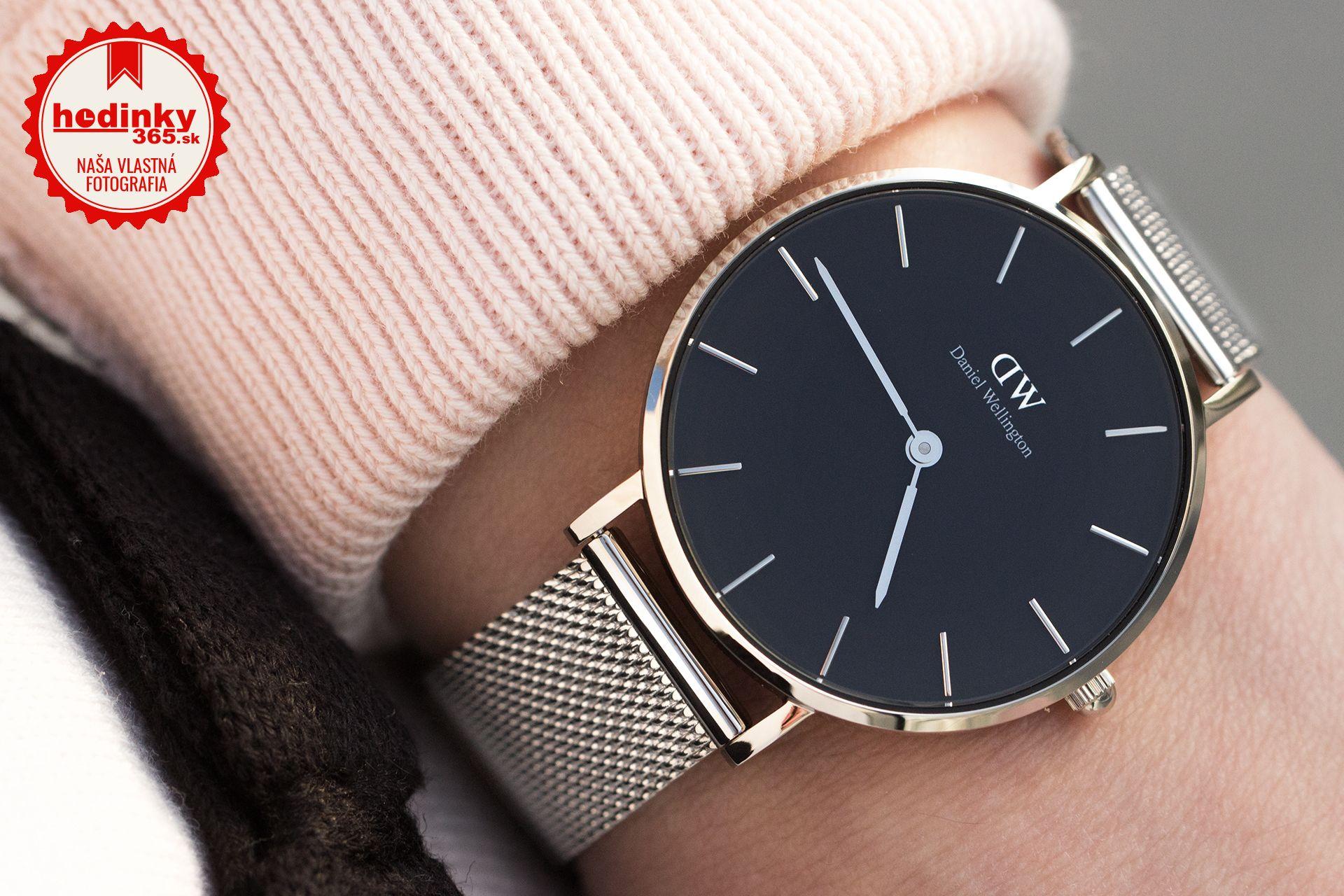 Daniel Wellington Classic Petite Sterling DW00100162. Dámske hodinky -  ocelový remienok d123ec26b74