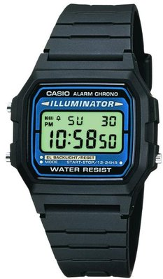 Casio Collection F-105W-1AWYEF