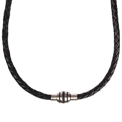 503359b61 Pánský kožený náhrdelník Boccia Titanium 0873-01   Hodinky-365.sk