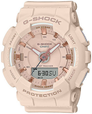 Casio G-Shock Original S-Series GMA-S130PA-4AER Pink Gold Accents